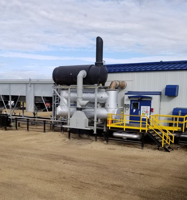 Heat recovery units for 20MW plant in Canada